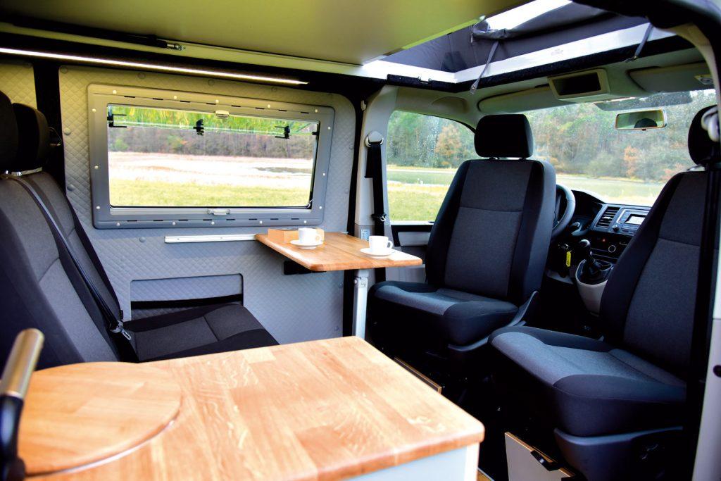 vw bus wohnmobil ausbau vw bus t6 individueller ausbau. Black Bedroom Furniture Sets. Home Design Ideas